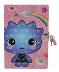 Glitter Galaxy Pink Journal W/Lock (C: 1-0-1)