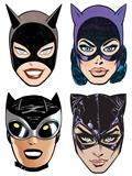 Catwoman 80Th Anniversary Paper Masks (Set of 4)