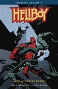 Hellboy Omnibus TP Vol 01 Seed of Destruction