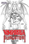Vampirella vs Purgatori #1 10 Copy Linsner B&W Incv