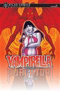 Vampirella vs Purgatori #1 Linsner Sgn Atlas Ed
