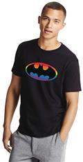 Batman Pride Symbol T/S Lg (C: 1-1-2)