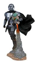 Star Wars Milestones Mandalorian & Child Statue (C: 1-1-2)
