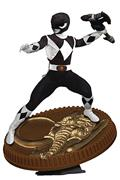Power Rangers Black Ranger 1:8 Scale Pvc Statue (C: 1-1-2)