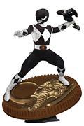 Power Rangers Black Ranger 1:8 Scale Pvc Statue (C: 1-1-2)