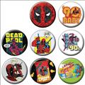 Deadpool 30Th Anniversary 144Pc Button Asst Dis (C: 1-1-2)
