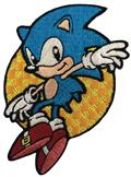 Sonic The Hedgehog Leaping Sonic Patch (C: 1-1-2)