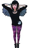 Kreepsville Bat Hooded Womens Tunic Lg (C: 0-1-1)