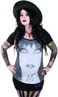 Elvira Glamour Eyes Loose Fit Womens T/S Lg (C: 0-1-1)