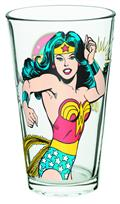 Wonder Woman Logo 16 Oz Glass (C: 1-1-2)