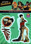 DC Bombshells Katana PX Vinyl Decal (C: 1-1-1)