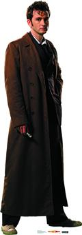 Doctor Who Tenth Doctor Overcoat Life-Size Standup (O/A) (C: