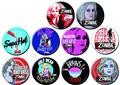 Izombie 144Pc Button Asst (Net) (C: 1-1-1)
