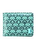 Sherlock Wallpaper Teal Wallet (C: 1-1-2)