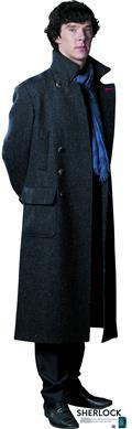 Sherlock Sherlock Holmes Life-Size Standup (C: 1-1-2)