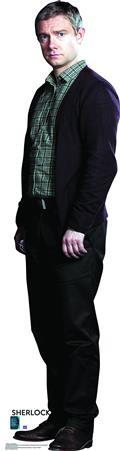 Sherlock Dr John Watson Life-Size Standup (C: 1-1-2)