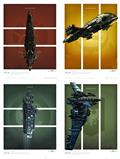 Eve Online Battlecruiser Art Print Set (C: 1-1-2)
