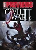 Marvel Previews #14 September 2016 Extras (Net) *Special Discount*