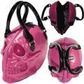 Kreepsville Skull Collection Pink Handbag (C: 1-1-2)
