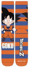 Dragonball Z Chibi Goku Stripe Unisex Crew Socks (C: 1-1-2)