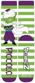 Dragonball Z Chibi Piccolo Stripe Unisex Crew Socks (C: 1-1-