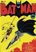 DC Comics Batman First Appearance Canvas (C: 1-1-1)