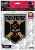 Suicide Squad Taskforce X PX Logo Decal (C: 1-1-1)