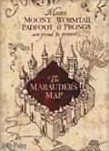 Harry Potter Marauders Map Canvas (C: 1-1-1)