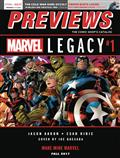 Previews #348 September 2017 (Net) *Special Discount* Includes A Free Marvel Previews And Image Plus