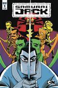 Samurai Jack Quantum Jack #1 (of 5) Cvr A Oeming