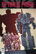 Optimus Prime #11 Cvr B Coller
