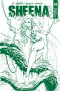 Sheena #1 Campbell Jungle Green Premium Ed