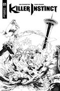 Killer Instinct #1 Cvr G 20 Copy Lau B&W Incv (Net)