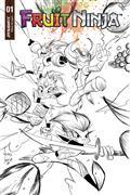 Fruit Ninja #1 Cvr C 10 Copy Brown B&W Incv (Net)
