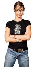 Harley Quinn Power Girl II Womens T/S Lg (C: 1-1-2)