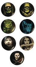 Classic Horror 1In Pin 12Pc Assortment (C: 1-1-2)