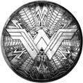 Wonder Woman Movie Round Shield Pewter Lapel Pin (C: 1-1-2)