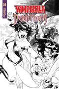 Vampirella Dejah Thoris #1 30 Copy Segovia B&W Incv (Net)