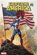 DF Captain America #1 Sgn Jusko Gold Sig (C: 0-1-2)