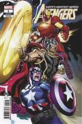 DF Avengers #1 Encore Ed Sgn Mark Morales (C: 0-1-2)