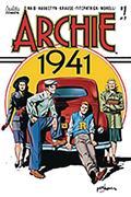 DF Archie 1941 #1 Sgn Mark Waid Gold Sig (C: 0-1-2)