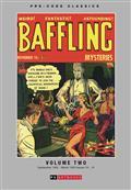 Pre Code Classics Baffling Mysteries HC Vol 02 (C: 0-1-1)