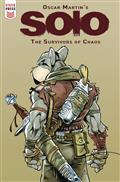 Oscar Martin Solo Survivors of Chaos #1 (of 2) Cvr B Martin