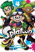 Splatoon Manga GN Vol 04 (C: 1-0-1)