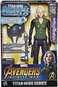 Avengers 12In Titan Hero Power Fx Black Widow AF Cs (Net) (C