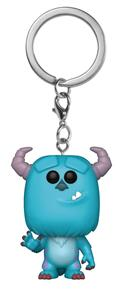 Pocket Pop Monsters Inc Sulley Vin Fig Keychain (C: 1-1-2)