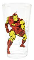 Toon Tumblers Iron Man Classic Clear Pint Glass (C: 1-1-2)