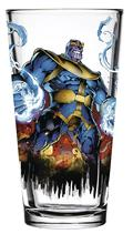 Toon Tumblers Thanos Comic Clear Pint Glass (C: 1-1-2)