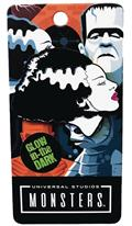 Bride of Frankenstein Glow Enamel Pin (C: 1-1-2)