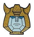 Transformers Bumblebee Glitter Face Pin (C: 1-1-2)